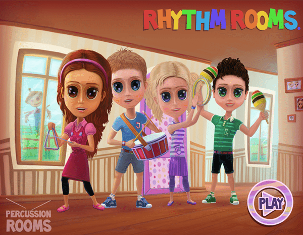 Rhythm Rooms - Educational Music Game for iOS/Android - Image