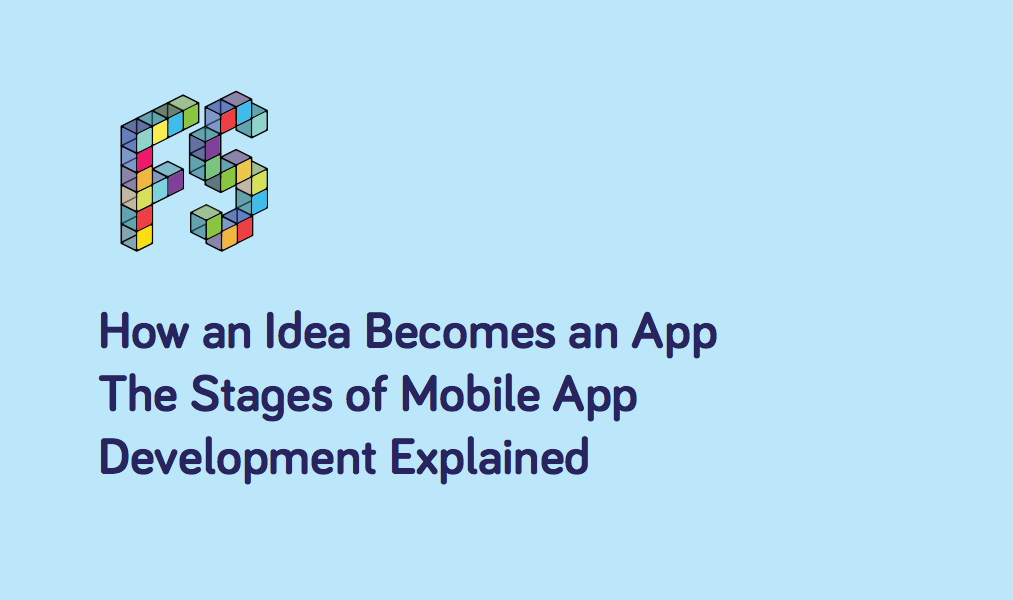 The Stages of Mobile App Development Explained - Logo