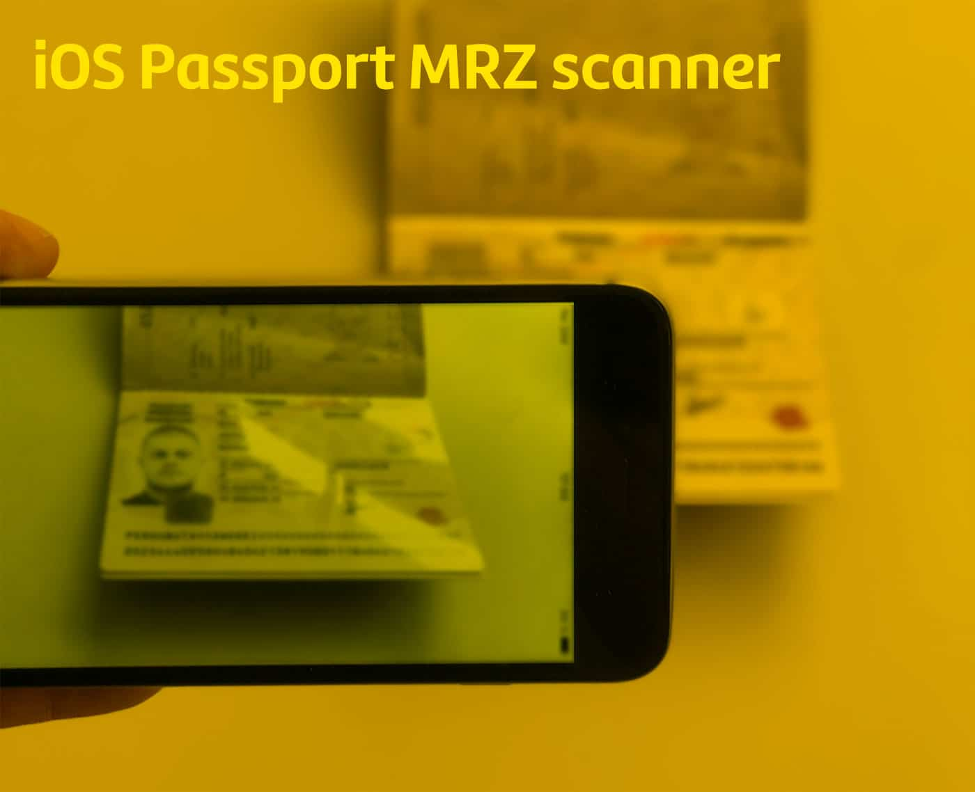Mobile Passport MRZ OCR SDK for iOS - Machine-readable passport