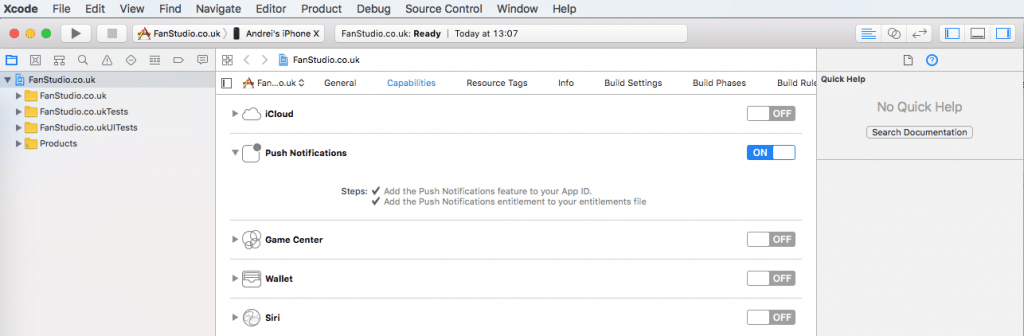 How to Add Push Notifications to Your iOS App using Xcode 9 and Swift 3 - Computer program